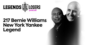 Bernie Williams New York Yankee Legend Legends and Losers
