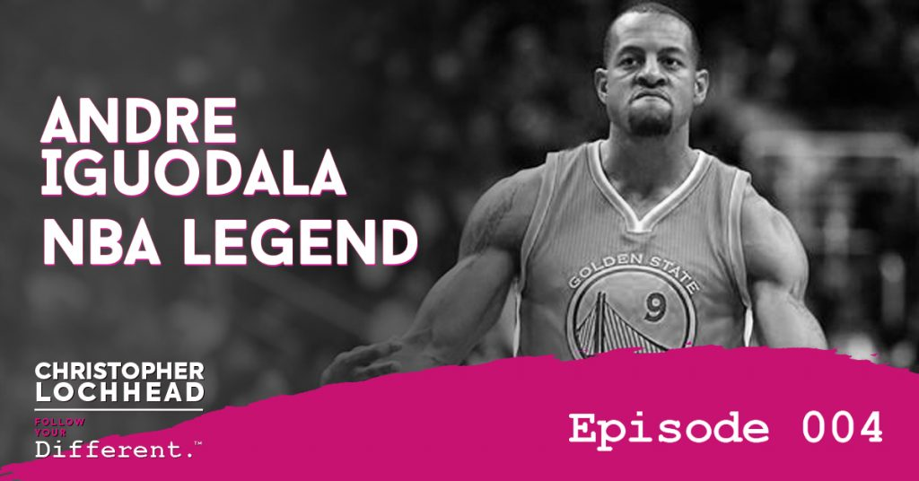 Follow Your Different™ Andre Iguodala