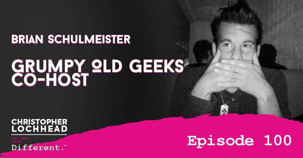 100 Grumpy Old Geeks Co-Host Brian Schulmeister
