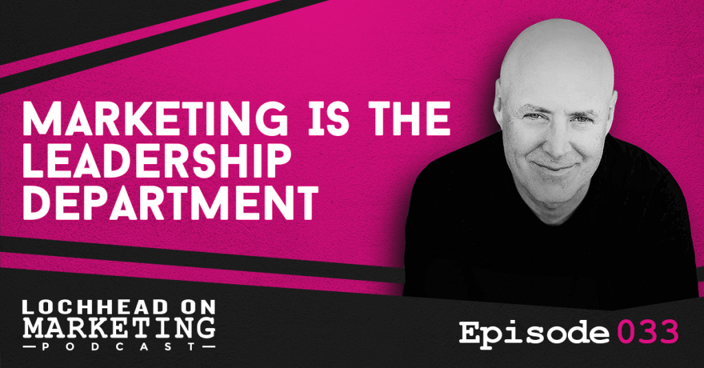 033 Marketing Is The Leadership Department